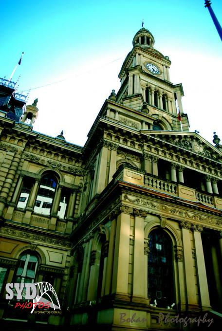 Sydney Townhall, By Photographer Chris, Created on 26 Jul 2010, SYDPHOTOS Photography all rights reserved.