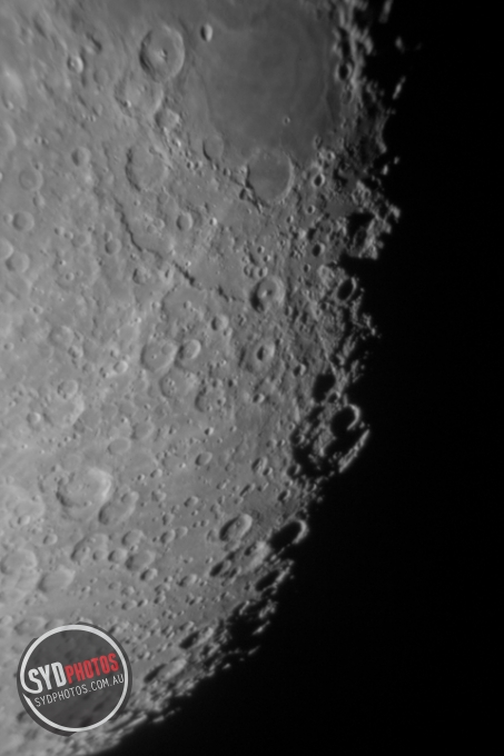 Moon Close-up, By Photographer Craig.Jewell, Created on 07 Apr 2011, SYDPHOTOS Photography all rights reserved.