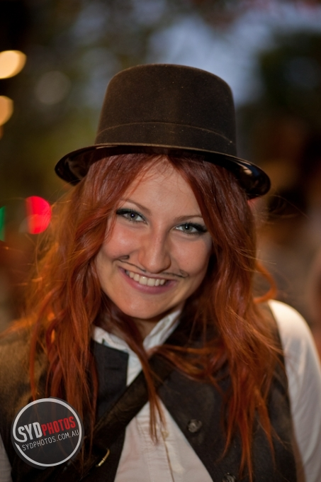 Pretty Smile - Mardi Gras 2011, By Photographer Craig.Jewell, Created on 07 Apr 2011, SYDPHOTOS Photography all rights reserved.