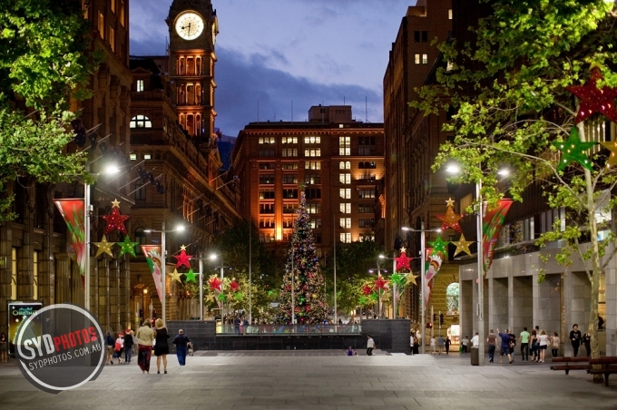 Martin Place at Night, By Photographer Craig.Jewell, Created on 07 Apr 2011, SYDPHOTOS Photography all rights reserved.