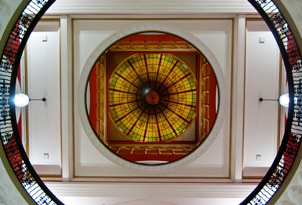 QVB Dome, By Photographer Craig.Jewell, Created on 07 Apr 2011, SYDPHOTOS Photography all rights reserved.