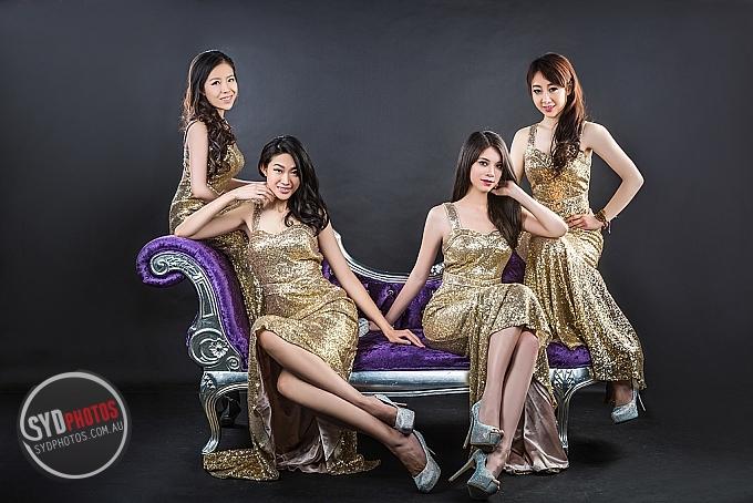 2015 TVB澳洲華裔小姐初赛胜出18名佳丽合影-金色系列-悉尼賽區