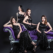 2015 TVB澳洲華裔小姐初赛胜出18名佳丽合影-黑色系列-悉尼賽區|悉尼活动 Party摄影