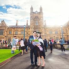 ID-49101-朱小姐-Graduation_portrait-悉尼畢業摄影|悉尼校园摄影,毕业照
