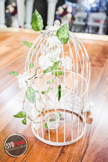 White Birdcage with Candle Holder (Item-0049), By Photographer Wedding.Plan, Created on 20 Apr 2016, SYDPHOTOS Photography all rights reserved.