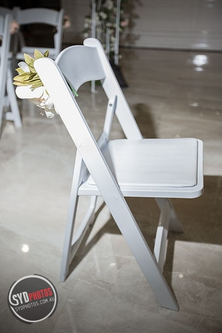 White Ceremony Chair (Item-0002), By Photographer Wedding.Plan, Created on 20 Apr 2016, SYDPHOTOS Photography all rights reserved.