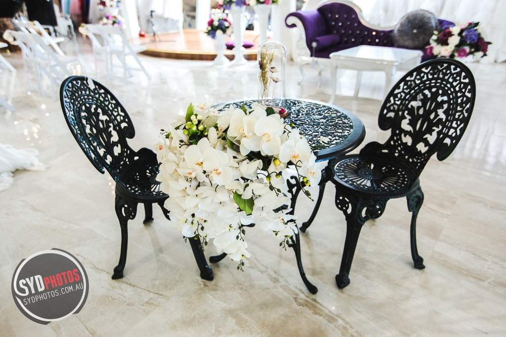 Dark Iron Table and Chair Set (Item-0022), By Photographer Wedding.Plan, Created on 20 Apr 2016, SYDPHOTOS Photography all rights reserved.