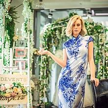 外国模特穿中国旗袍-20170316 悉尼中外专业模特中介