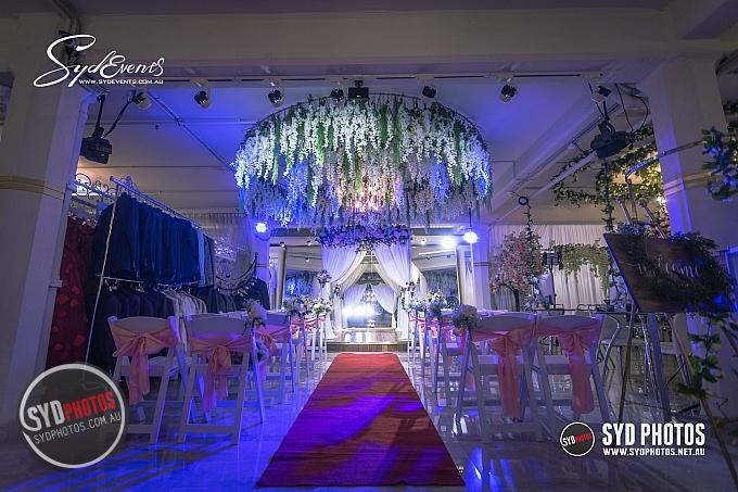 20190317 SydEvents 悉尼室内展厅婚礼宣誓