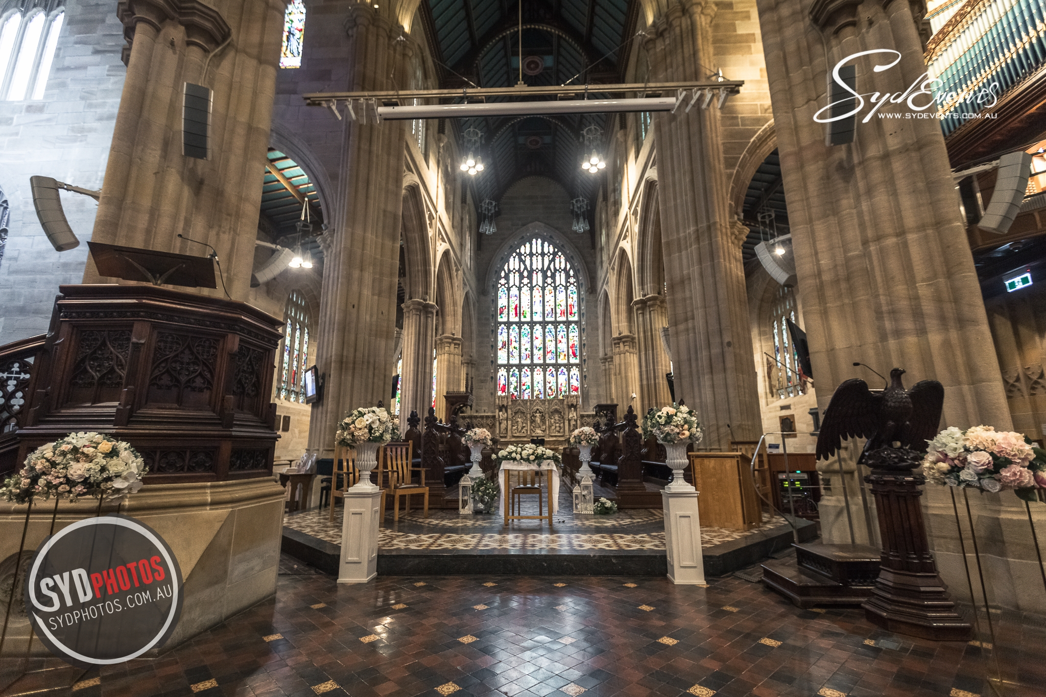 ID-110838-20190811-St Andrew's Cathedral悉尼教堂婚礼